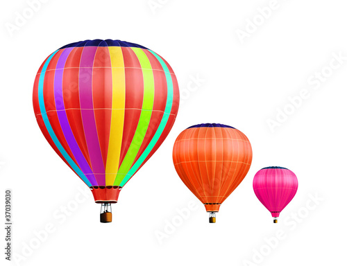 air-balloons with path - 37039030
