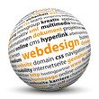 Webdesign, 3D, Kugel, Keywörter, SEO, Suchbegriffe