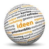 Ideen, 3D, Kugel, Brainstorming, Geschäftsidee, SEO