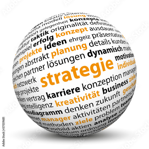 Strategie, 3D, Kugel, Projekte, Karriere, Keywörter, SEO