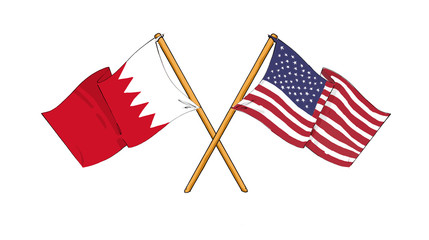 American and Bahraini alliance and friendship