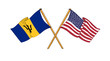 America and Barbados -  alliance and friendship