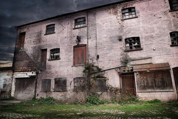 old disused factory