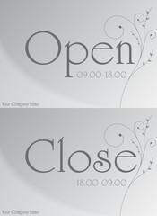 Vector Door Banner