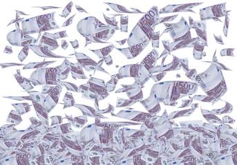 Dinero caido del cielo.