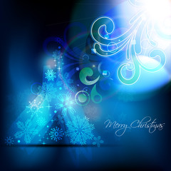 artistic christmas background