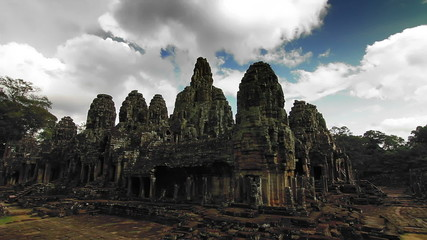 Bayon temple time lapse loop