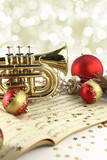 Christmas music decoration