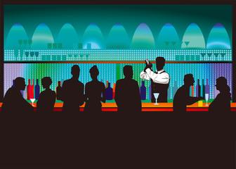 Bar und Barkeeper
