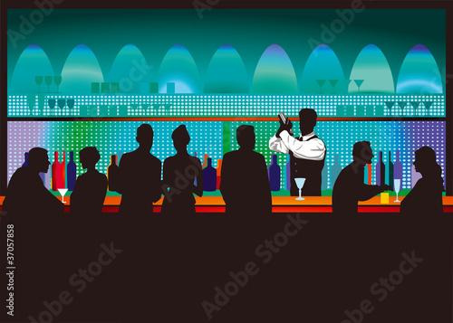 Bar und Barkeeper - 37057858