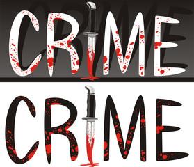 crime scene - murder weapon