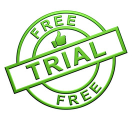 """Free Trial"" Icon (green)"