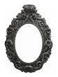 old oval  baroque frame