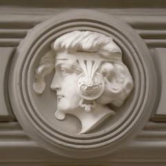 Ornamentation - portrait of woman