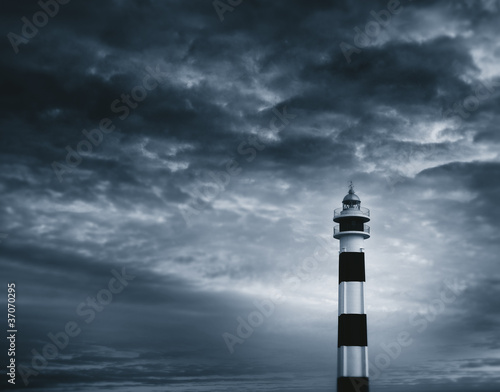 Lighthouse duotone