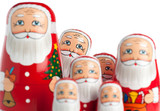 Group Of Santa Claus