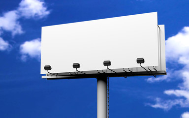 Werbeschild billboard