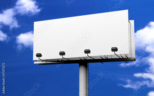 Werbeschild billboard