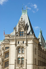 Biltmore House Front Tower