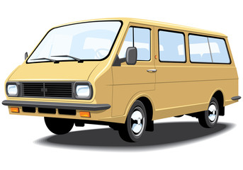 Vector mini bus without gradients