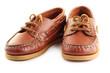 Leinwandbild Motiv Boat shoes.