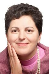 Middle aged woman portrait