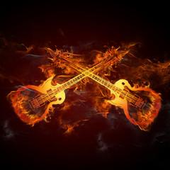 Gitarren Feuer