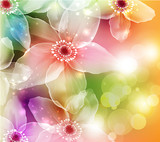 Flowers. Vector illustration. - 37093659