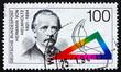 Postage stamp Germany 1994 Hermann von Helmholtz