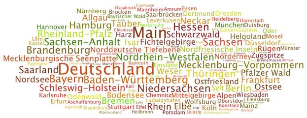 Tag Cloud Deutschland