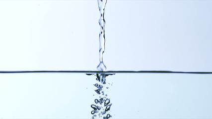 Water being poured