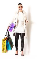 Freude beim shoppen