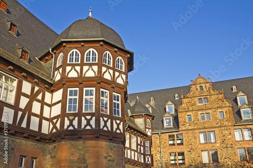 Leinwanddruck Bild Neues Schloss & Zeughaus