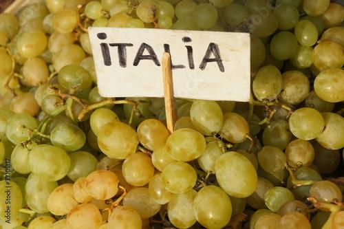 Weintrauben Obst Lebensmittel Italien