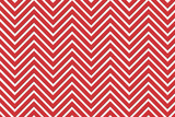Trendy chevron patterned background R&W poster