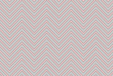Trendy chevron patterned background pink and grey poster