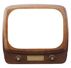 Old framed TV