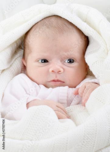 Fototapeten,newborn,auge,baby,gestrickt