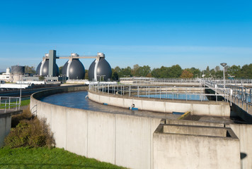 waste water plant