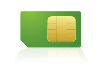 Green phone sim