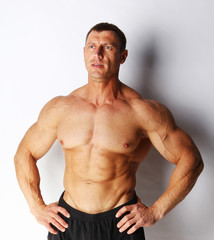 Image of bodybuilder posing