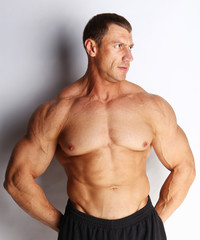 Image of bodybuilder posing