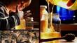 Bambino, miele, api, picture in picture