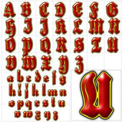 abc alphabet font background herzog design