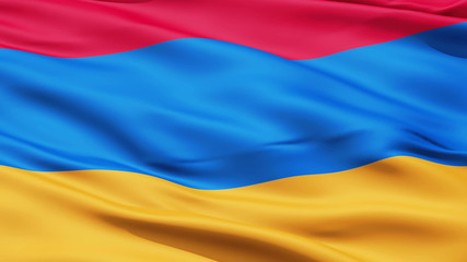 Waving Flag Of Armenia