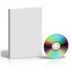 Couverture de livre personnalisable et son disque laser
