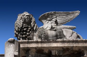 Leone di San Marco - Verona piazza Erbe