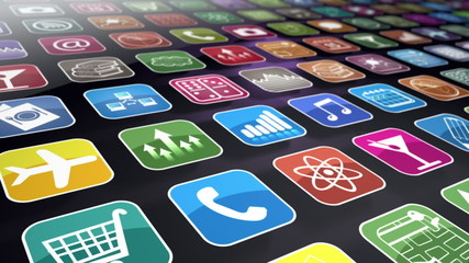 Mobile Apps Seamless Background Loop