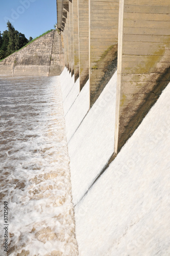 Foto op Canvas Dam dam
