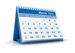 Calendario 2012. Marzo